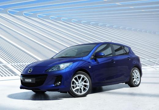 MAZDA 3 IV hatchback niebieski jasny przedni lewy