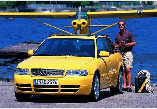 AUDI A4 Avant B5 kombi żółty przedni lewy