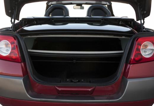 RENAULT Megane II CC kabriolet przestrzeń załadunkowa