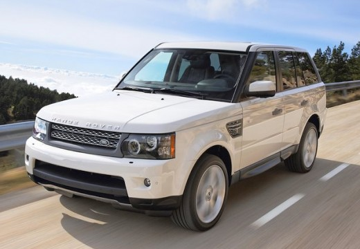 LAND ROVER Range Rover Sport III kombi biały przedni lewy