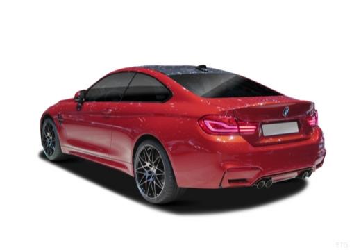 BMW Seria 4 coupe tylny lewy