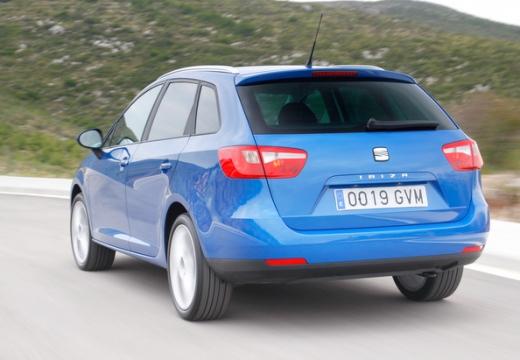 SEAT Ibiza ST I kombi niebieski jasny tylny lewy