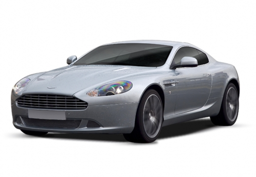 ASTON MARTIN DB9 PL coupe silver grey