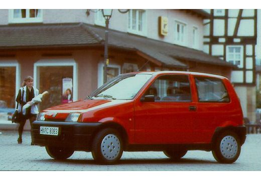 FIAT Cinquecento I hatchback przedni lewy