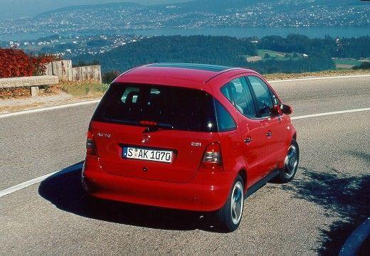 MERCEDES-BENZ Klasa A W 168 I hatchback czerwony jasny tylny prawy