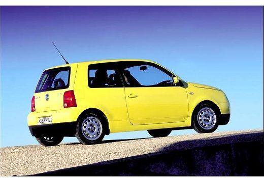 VOLKSWAGEN Lupo hatchback żółty tylny prawy