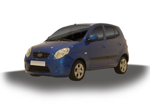KIA Picanto II hatchback niebieski jasny