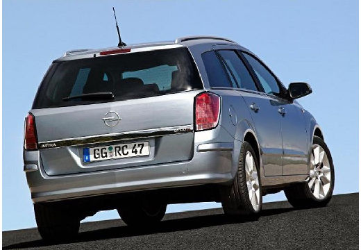 OPEL Astra III I kombi silver grey tylny prawy